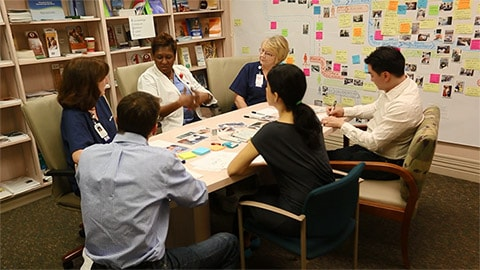Creating an exceptional patient experience leveraging design thinking